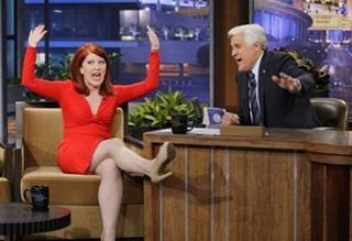 Kate Flannery leadership stage